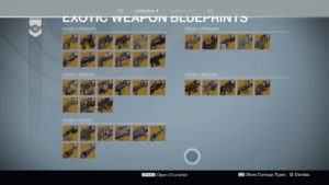 Vtx2004 destiny ps4 all exotic guns malvernweather Images